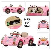 Детский электромобиль M 2399 R-8 Тачки макквин розовая