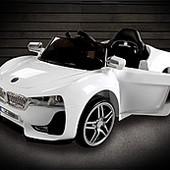 Детский электромобиль BMW X5 (8858) колеса eva,белый