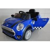 Детский электромобиль Mini Cooper M 3182 ebr-4, синий