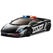 Auldey Автомобиль радиоуправляемый -Lamborghini - Lp560-4 Gallardo Police черный, 1 28, свет мигалк