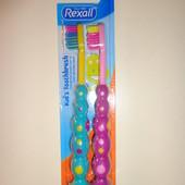 Детские зубные щетки Rexal, Америка.
