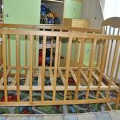 Детская кроватка+ кокосовый матрасик