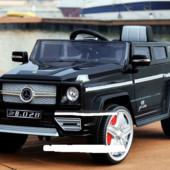 Детский электромобиль Джип Mercedes M 3173 ebr-2,черный