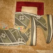 Шикарные фирменные демисезонные сапожки Adidas. 37 размер.