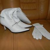 Сапоги деми Ellenka 37р+перчаткиL