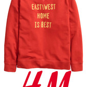 Яркий свитшот для мужчин S фирмы H&M Швеция
