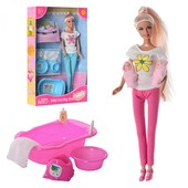 Кукла DEFA 8213 с малышами аксессуарами