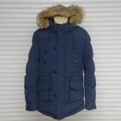 Распродажа! Мужская зимняя удлиненная куртка - парка на холлофайбере Egret, модель