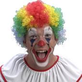 """Парик цветной """"Клоун"""", короткие волосы"""