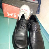Ботинки туфли.кожа МИДА