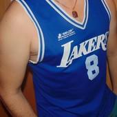 Фирменная спортивная баскетбольная майка Baylor. Lakers.л-хл .