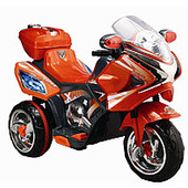 Детский мотоцикл M1602, оранжевый
