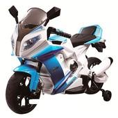 Детский мотоцикл BMW HA528 (s1000,)(m 2769) лицензионный, синий