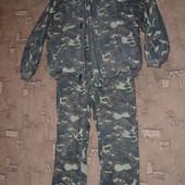 теплый зимний костюм размер L-XL