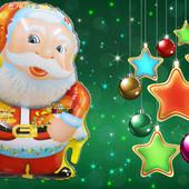 ***Большой фольгированный Санта Клаус*** (72 см) Количество ограничено!