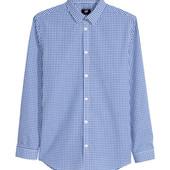 Классная рубашка h&m, легкая глажка