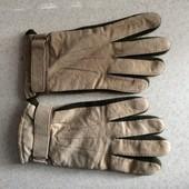 замшевые перчатки Terranova