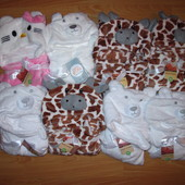 Детское плюшевое полотенце плед, конверт для новорожденного