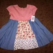 Платье Matalan 2-3г.большемерит.