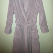 Шикарнейший, тёплющий, плюшевый халат M&S 12/14р.