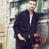 Рубашка джинсовая мужская L Германия