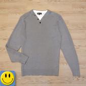 Новый пуловер Sandstone&Co men р. M. сток, джемпер, свитер, реглан