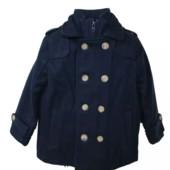 Пальто Тёмно-синее для мальчика Minoti р. 98-158 Англия