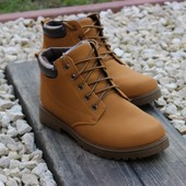 Мужские утепленные зимние ботинки