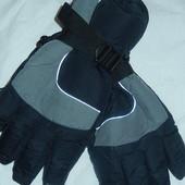 Большие дутые перчатки,на очень крупную мужскую руку