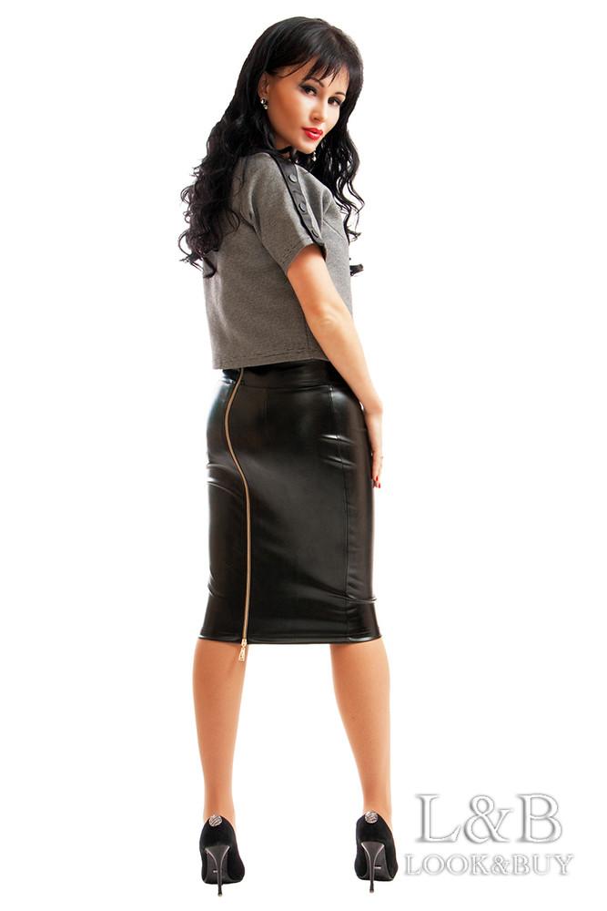 ded1a0cc92c Секси!!! кожаные юбка мадонна сзади на змейке. до р.60 фото