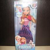 Кукла Анна из мультфильма Frozen, музыкальная (поет песню)
