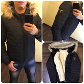 Мужская зимняя куртка с 46 по 52 р.
