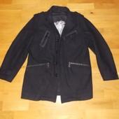 Стильный немецкий кашемировый Пиджак-Пальто р-р L.(48-50)Германия