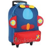 Детский дорожный чемодан на колесах. Самолет!