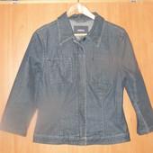 Фирменная джинсовая куртка пиджак Mexx 42-44р. оригинал