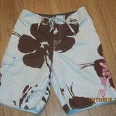 Пляжные мужские шорты голубого цвета  Quiksilver,размер S/M
