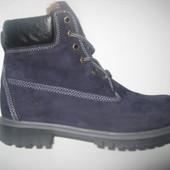 Ботинки мужские зима синие и черные с 40-45р код: Л