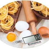 Весы кухонные Grunhelm с рисунком
