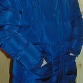 Стильная фирменная новая  курточка парка пуховик бренд  Apparel л-хл .