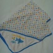 Трикотажное велюровое полотенце