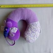 Детская подушка под шею для путешествия silver cross