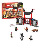 """Конструктор Bela Ninja """"Побег из тюрьмы Криптариум"""" 241 деталь"""