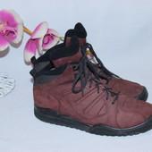 42 27см Adidas Натуральные кожаные мужские ботинки кроссовки
