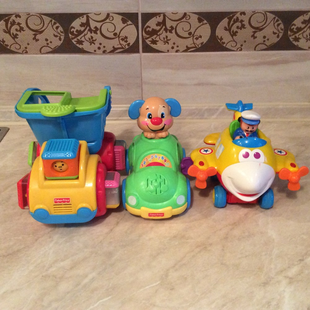 Музыкальные игрушки fisher price и kiddieland фото №1