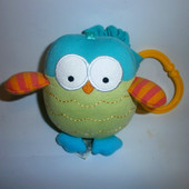 Маленькая танцующая вибрирующая игрушка, подвеска -Сова, Mothercare