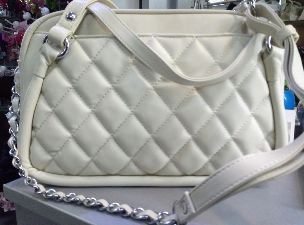Стеганая сумка в стиле Шанель - Уценка купить недорого
