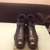 Зимние кожаный ботинки Lloyd Германия 42 р, состояние идеальное