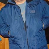 Брендовая стильная зимняя  супер теплая курточка парка Kansas l-xl