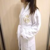 Вышивка именная на халатах от 50 грн, Крюковщина