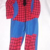 Флисовая пижама, человечек  фирмы George 3-4 года 98-104 см.